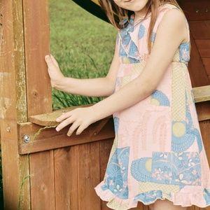 Wrap Around by Wrapper Little Girls Pink Dress